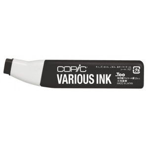 Copic® Various Toner Gray No. 10 Ink; Color: Black/Gray; Ink Type: Alcohol-Based; Refill: Yes; (model T10-V), price per each