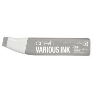 Copic® Various Toner Gray No. 5 Ink; Color: Black/Gray; Ink Type: Alcohol-Based; Refill: Yes; (model T5-V), price per each