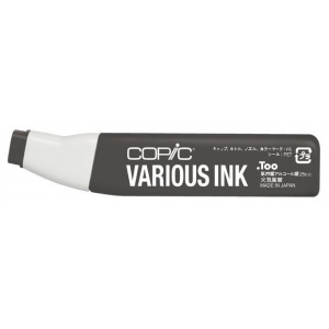 Copic® Various Toner Gray No. 9 Ink: Black/Gray, Alcohol-Based, Refillable, (model T9-V), price per each
