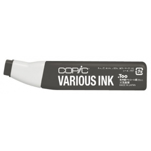 Copic® Various Warm Gray No. 9 Ink: Black/Gray, Alcohol-Based, Refill, (model W9-V), price per each
