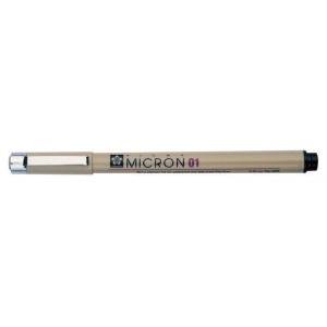Pigma® Micron® Blue Fine Line Design Pen .45mm; Color: Blue; Ink Type: Pigment; Tip Size: .45mm; Tip Type: Fine Nib; (model XSDK05-36), price per each