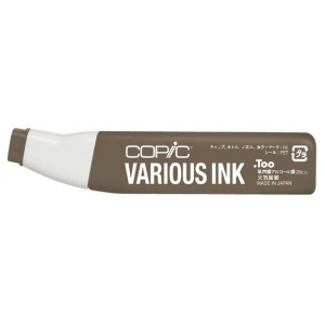 Copic® Various Fig Ink; Color: Brown; Ink Type: Alcohol-Based; Refill: Yes; (model E87-V), price per each