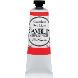 Gamblin Artists' Grade Oil Color 37ml Alizarin Crimson: Red/Pink, Tube, 37 ml, Oil, (model G1020), price per tube
