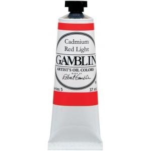 Gamblin Artists' Grade Oil Color 37ml Alizarin Permanent; Color: Red/Pink; Format: Tube; Size: 37 ml; Type: Oil; (model G1025), price per tube