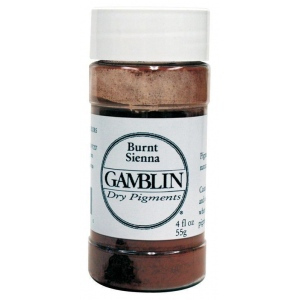 Gamblin Dry Pigment 59g Raw Sienna: Brown, Jar, 4 oz, (model G8610), price per each