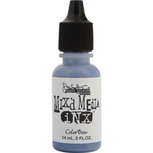 ColorBox® Mix'd Media Inx™ Denim Pigment Ink Refill; Color: Blue; Format: Pad; Ink Type: Pigment; Refill: Yes; (model CS37107), price per each