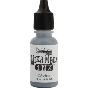 ColorBox® Mix'd Media Inx™ Pewter Pigment Ink Refill: Black/Gray, Bottle, Pigment, Refill, (model CS37112), price per each
