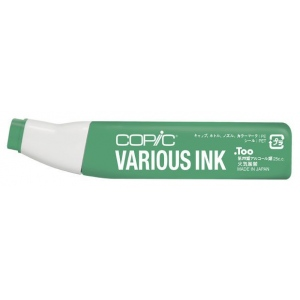 Copic® Various Refill Ink Mistletoe; Color: Green; Ink Type: Alcohol-Based; Refill: Yes; (model G46-V), price per each
