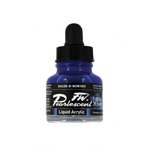 FW Pearlescent Liquid Acrylic Ink 1 oz. Sky Blue; Color: Blue; Format: Bottle; Ink Type: Acrylic; Size: 1 oz; (model FW603201130), price per each