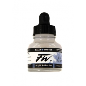 FW Liquid Artists' Acrylic Ink 1 oz. Shimmering Blue; Color: Metallic; Format: Bottle; Ink Type: Acrylic; Size: 1 oz; (model FW160029711), price per each