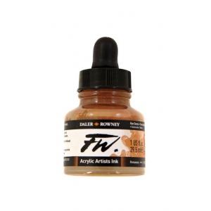 FW Liquid Artists' Acrylic Ink 1 oz. Raw Sienna: Brown, Bottle, Acrylic, 1 oz, (model FW160029667), price per each