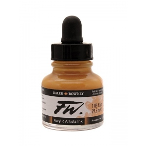 FW Liquid Artists' Acrylic Ink 1 oz. Flesh Tint: Red/Pink, Bottle, Acrylic, 1 oz, (model FW160029578), price per each