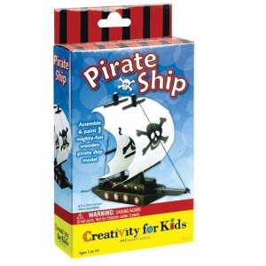 Creativity for Kids® Make Your Own Pirate Ship Mini Kit: Creativity Kit, (model FC1475), price per set