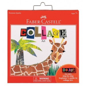 Faber-Castell® Do Art Collage Set; Kit: Yes; Type: Children's Art Kit; (model FC14569), price per set