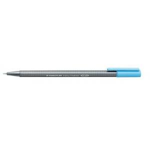 Staedtler® Triplus® Aqua Blue Fineliner Pen : Blue, .3mm, Fine Nib, Technical, (model 334-34), price per each