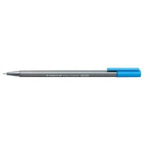 Staedtler® Triplus® Cyan Fineliner Pen ; Color: Blue; Tip Size: .3mm; Tip Type: Fine Nib; Type: Technical; (model 334-37), price per each