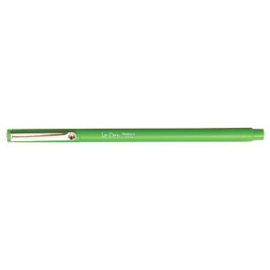 Marvy® LePen Light Green Fineline Marker; Color: Green; Ink Type: Water-Based; Tip Size: .3mm; Type: Technical; (model MR4300-S11), price per each