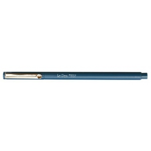Marvy® LePen Oriental Blue Fineline Marker: Blue, Water-Based, .3mm, Technical, (model MR4300-S33), price per each