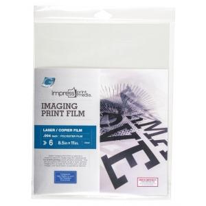"Grafix® impress print media™ Imaging Print Film - Laser: 8 1/2"" x 11"", (model KCL0811-6I), price per pack"