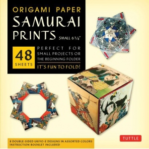 "Tuttle 6.75"" Origami Paper Samurai Patterns; Format: Sheet; Size: 6 3/4""; Type: Origami; (model T843478), price per pack"
