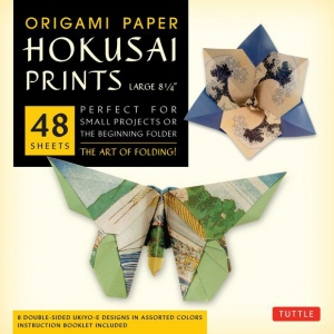 "Tuttle 8.25"" Origami Paper Hokusai Prints: Sheet, 8 1/4"", Origami, (model T844536), price per pack"