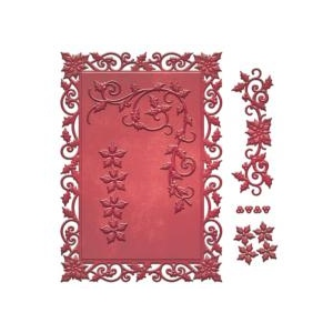 Spellbinders - Decorative Holly Frame Die