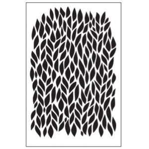 Ranger - Dina Wakley Media - Stencils - Leafy