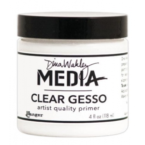 Ranger - Dina Wakley Media - Clear Gesso 4oz Jar