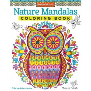 Design Originals - Nature Mandalas Coloring Book