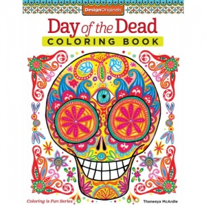 Design Originals - Day of the Dead Coloring Book
