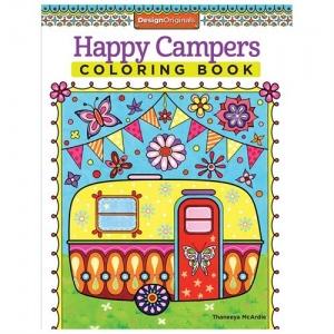 Design Originals - Happy Camper Zentangle Coloring Book