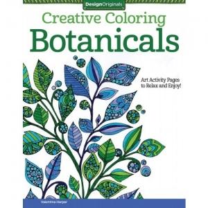 Design Originals - Creative Coloring Botanicals Coloring Book