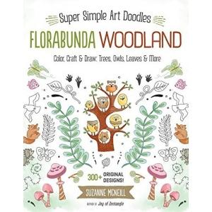 Design Originals - Florabunda Woodland Coloring Book