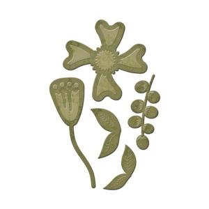 Spellbinders - Die D-Lites - Stylized Flower