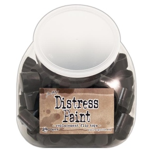 Tim Holtz - Distress - Replacement Flip Tops Display - 100 Pack