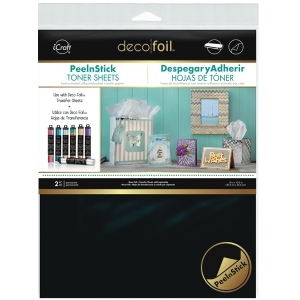 Thermoweb - iCraft - Deco Foil - Peel N Stick Toner Sheets - 2 Sheets