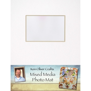 Ken Oliver - Mixed Media - Photo Mat - 11x14