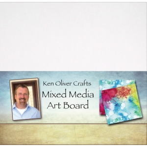 Ken Oliver - Mixed Media - Art Board - 12x12