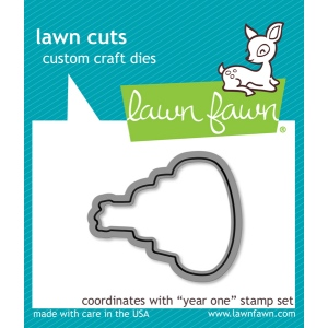 Lawn Fawn - Lawn Cuts - Year One Dies