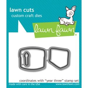 Lawn Fawn - Lawn Cuts - Year Three Dies