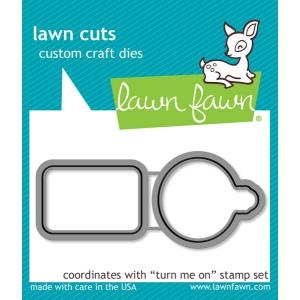 Lawn Fawn - Lawn Cuts - Turn Me On Dies
