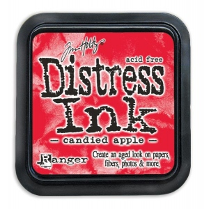 Tim Holtz - Distress - December Color Of The Month - Candied Apple Distress Ink Pad