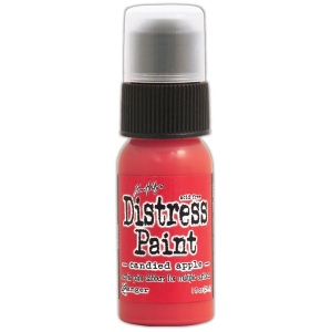 Tim Holtz - Distress - December Color Of The Month - Candied Apple Distress Paint