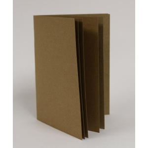 7Gypsies - Naked Starter Journal - 8.5x11 - Kraft