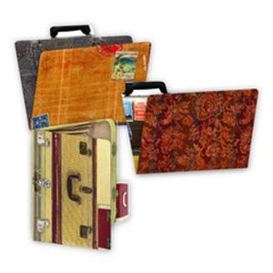 7Gypsies - Printed ATC Folders - Wanderlust