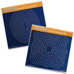 Claritystamp - Oval & Classic Framer Groovi Plates Set