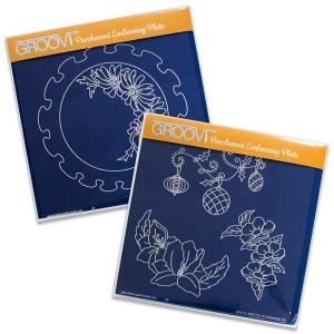 Claritystamp - Frilly Circles Groovi Plates Set