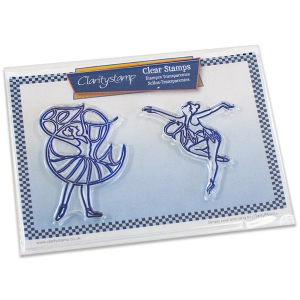 Claritystamp - Beauty & Charm Ballerinas Stamp Set