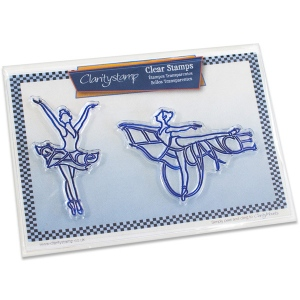 Claritystamp - Elegance & Grace Ballerinas Stamp Set