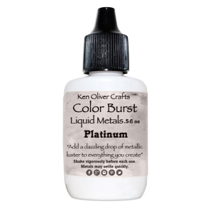 Ken Oliver - Color Burst - Liquid Metals - Platinum